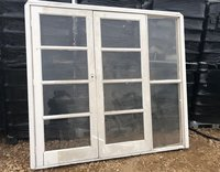 Wooden Double Glass Doors for Traditional Marquees