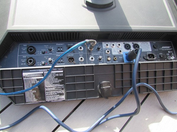 Secondhand Bose system
