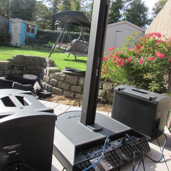 Secondhand PA system
