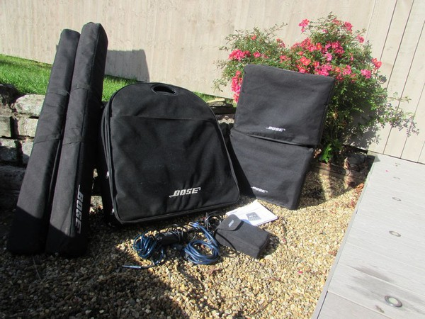 Used Bose PA system