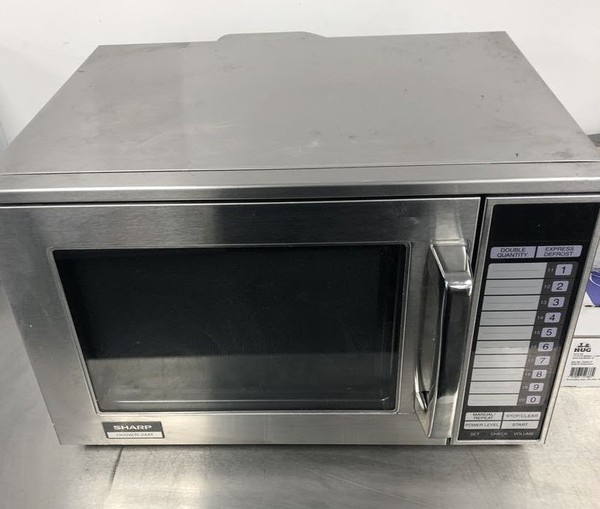 Commercial Sharp Microwave