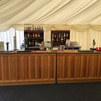 Oak Wedding Bar for sale