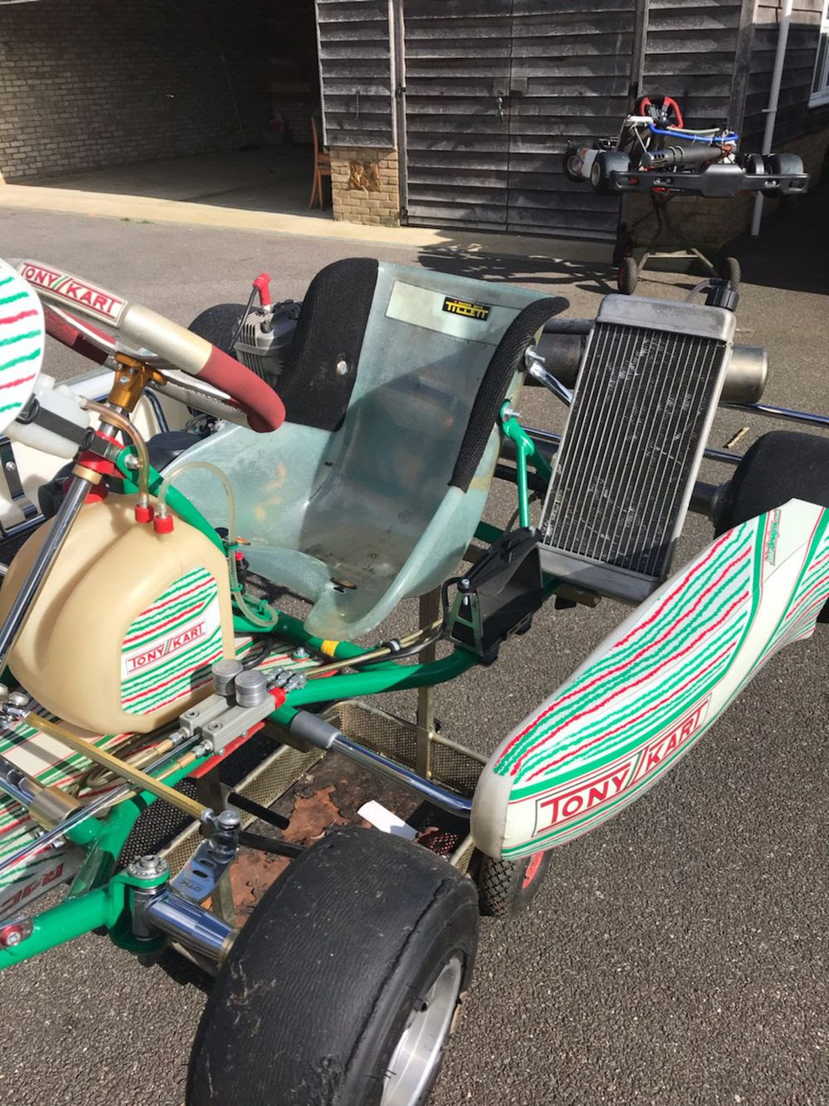 Secondhand Karting Co Uk Single Karts Tony Kart 401