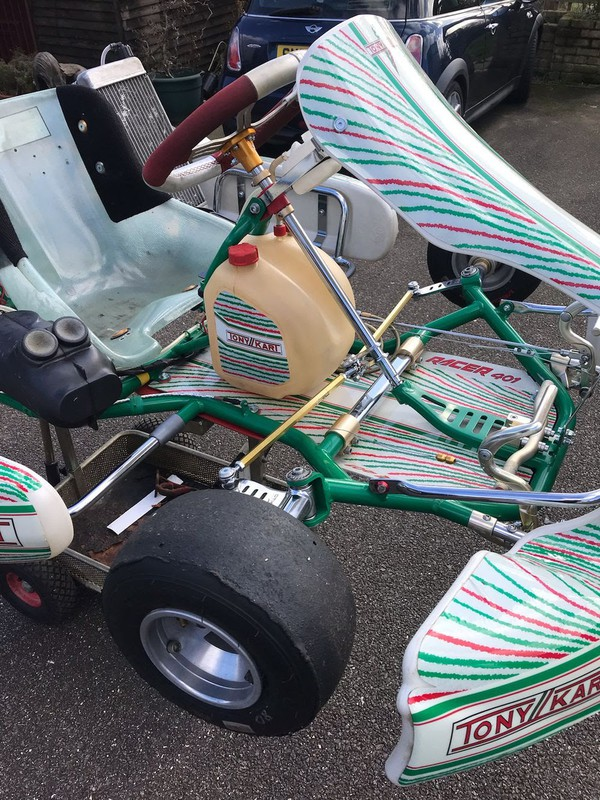 Buy Tony Kart 401 Racer with IAME X 30 Engine