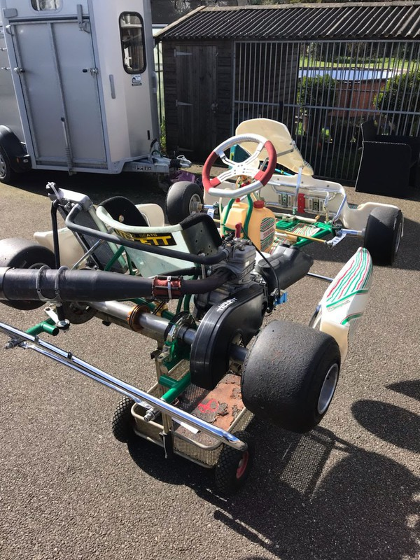 Second Hand Tony Kart 401 Racer with IAME X 30 Engine