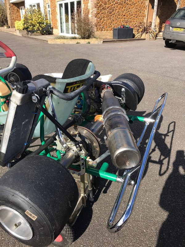 Selling Tony Kart 401 Racer with IAME X 30 Engine