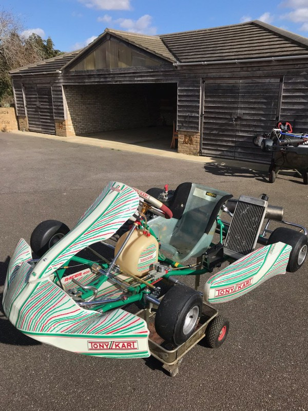 Tony Kart 401 Racer with IAME X 30 Engine