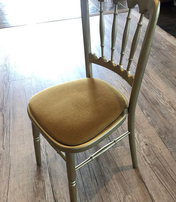 Gold Cheltenham Banqueting Chairs & Pads