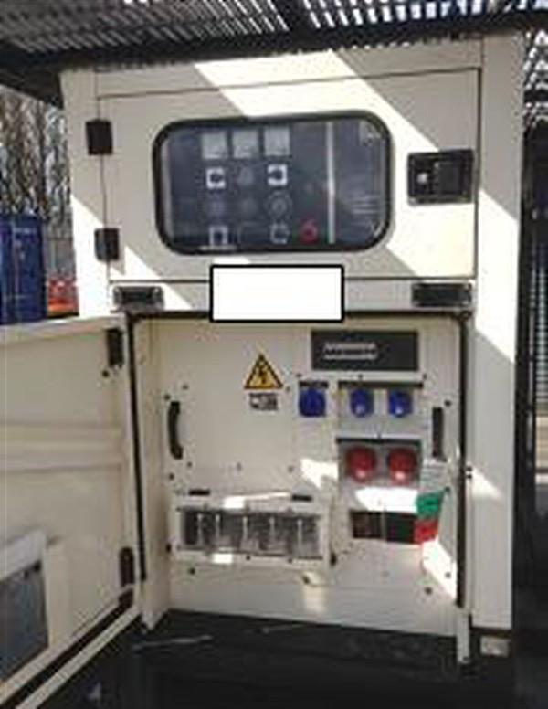3 phase quiet Generator 75kva