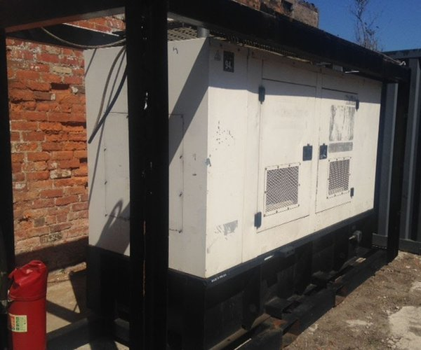 FG Wilson model XD75P1 three phase generators