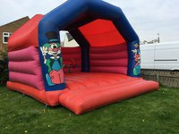 Large bouncy castle for sale