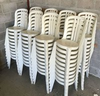 ex Hire Bistro chairs for sale