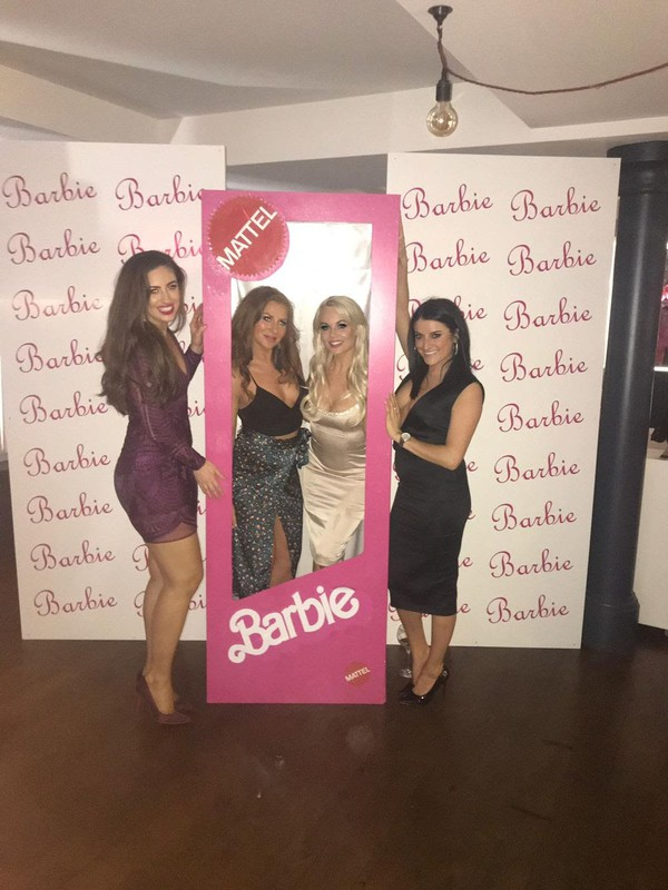 Barbie Box Party Prop Photo Booth