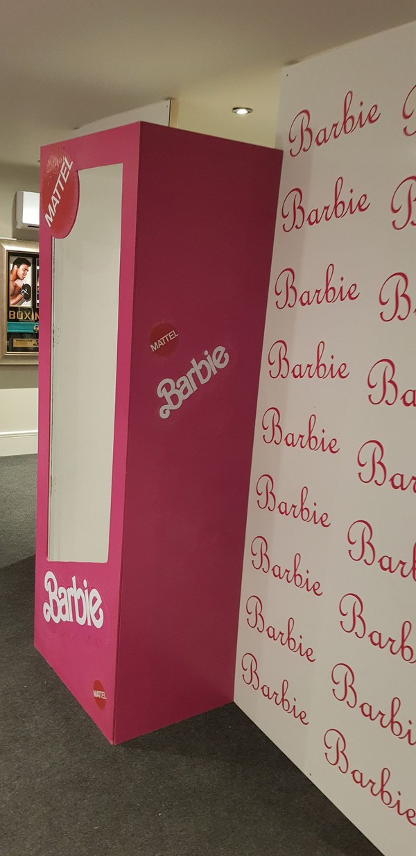 Barbie Party Photo Booth