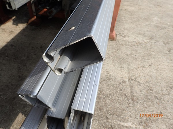 Aluminium two channel rafter