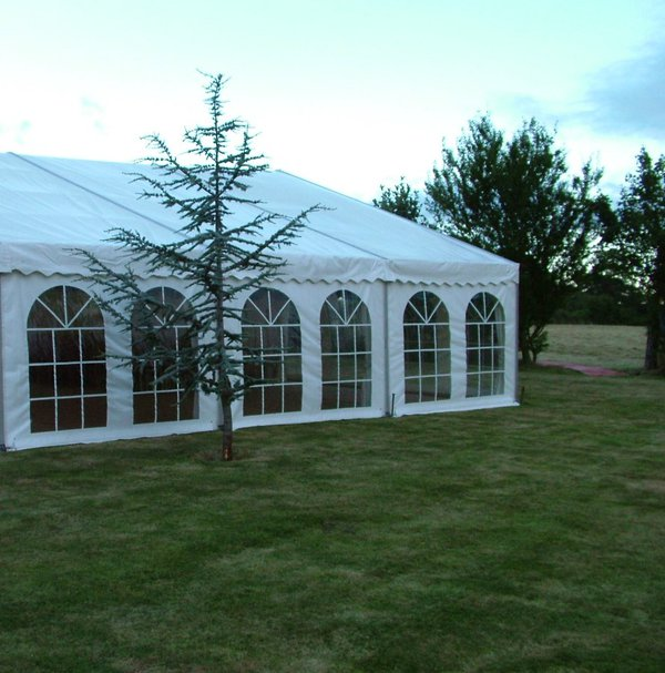Marquee with windows for sale