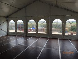 Frame Marquee with Cassette Floor 9m x 12m