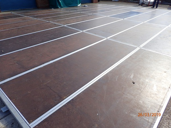 Buy Used Frame Marquee with Cassette Floor 9m x 12m