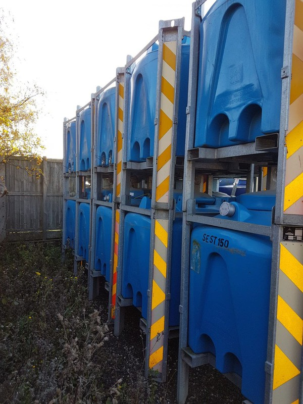Bulk water storage AquaStax