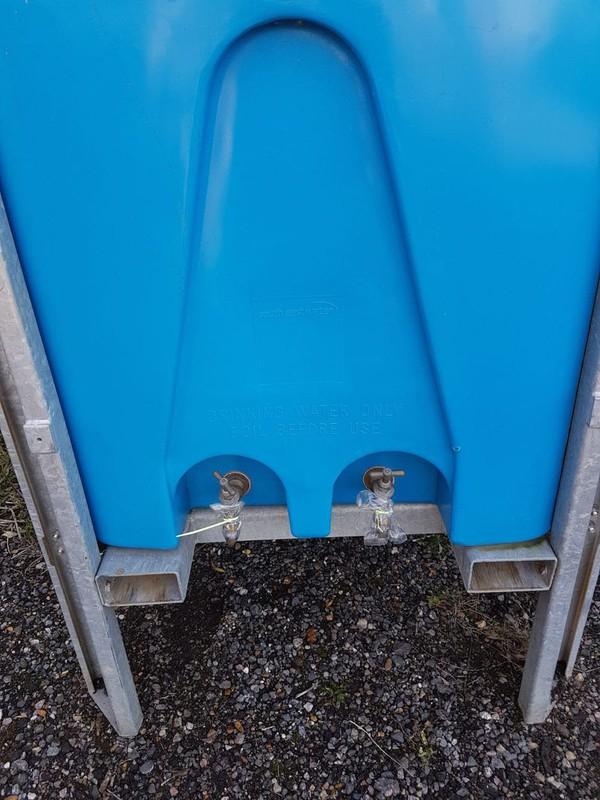 Glamping water storage