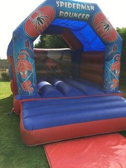 Spiderman bouncy castle for sale