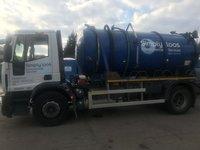 Toilet service lorry