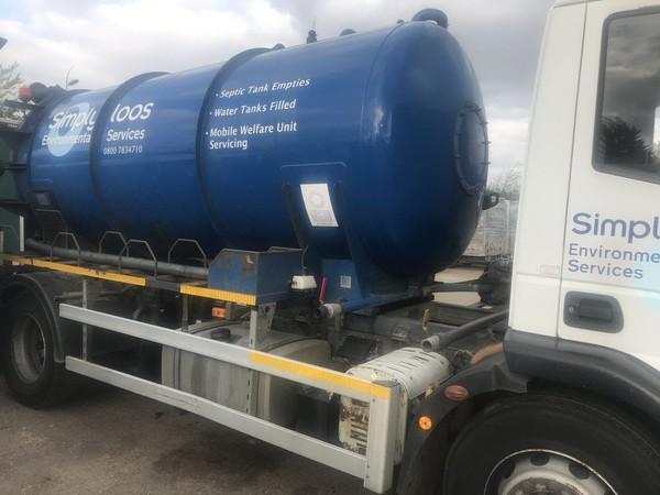 2000 Gallon tanker