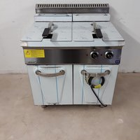 New B Grade Empero 7FE020 Double Freestanding Fryer (T8539)