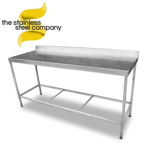 1.75m Stainless steel table