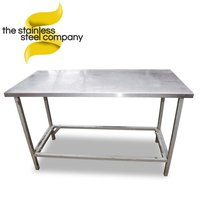 Stainless steel table 1.2m