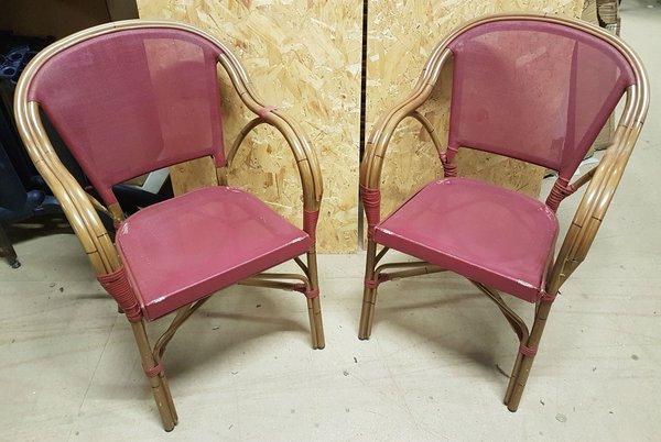Aluminium out door chairs