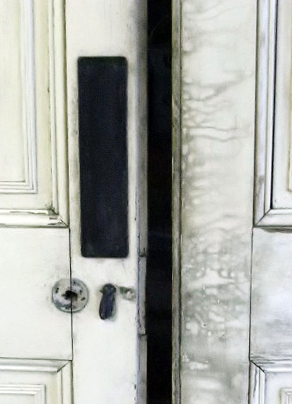 Pair of Georgian interior dividing doors