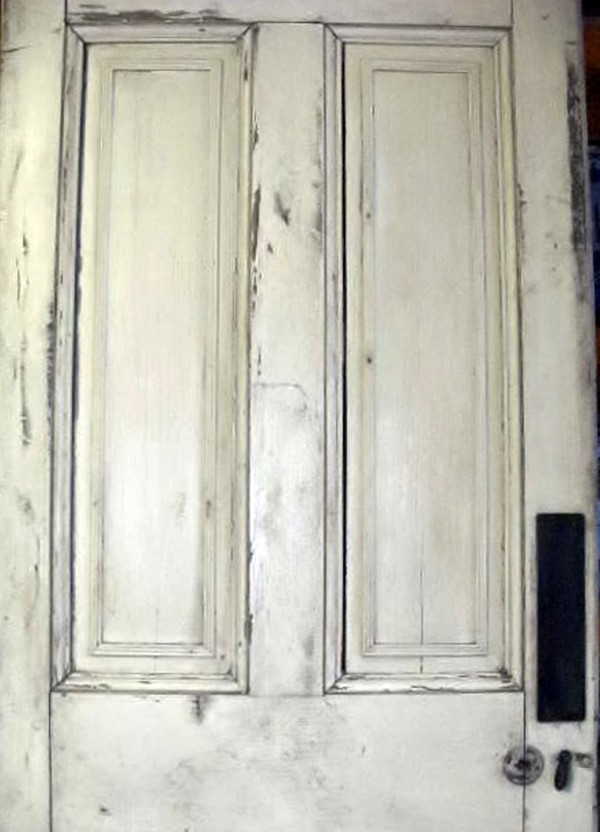 Pair of Georgian Interior Pine Wood Doors for sale