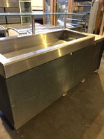 Gram Prep Counter Chiller With Fish Display Counter
