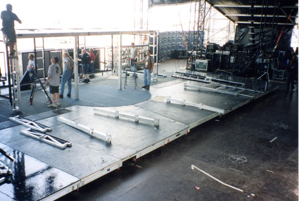 Building the stage set
