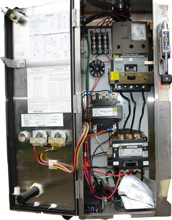 3 phase electrical control