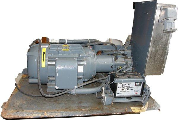 3 phase variable volume pump