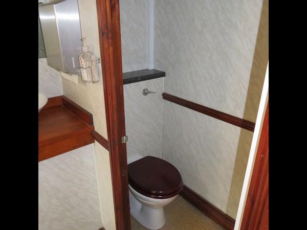 Used 3 plus 1 Toilet trailer
