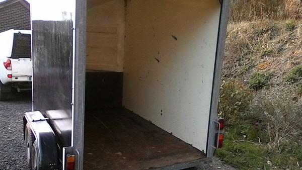 Twin Axle 8x5 Box Trailer  for sale
