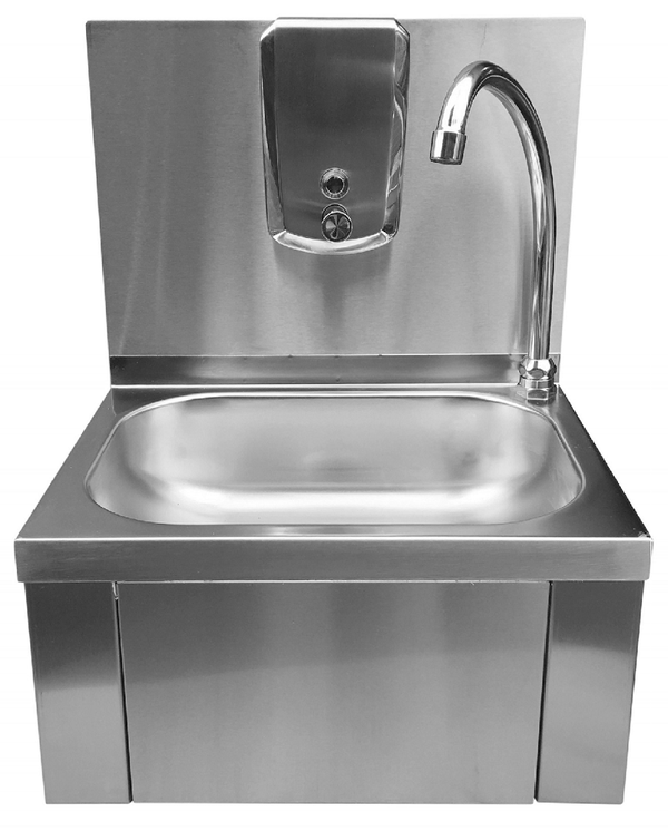 New Stainless Steel Knee Operated Hand Wash Sink (A7706)