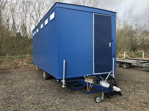 Gas shower trailer for sale