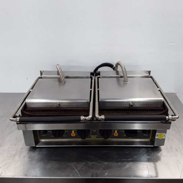 Used Roller Grill  Panini Contact Grill (8590)