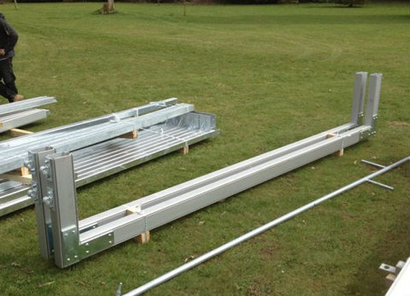 Roder HTS Portal beams for sale