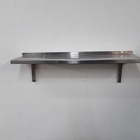 Used  Stainless Steel Wall Shelf	(8610)