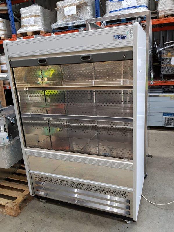 Gem Stainless steel Display fridge