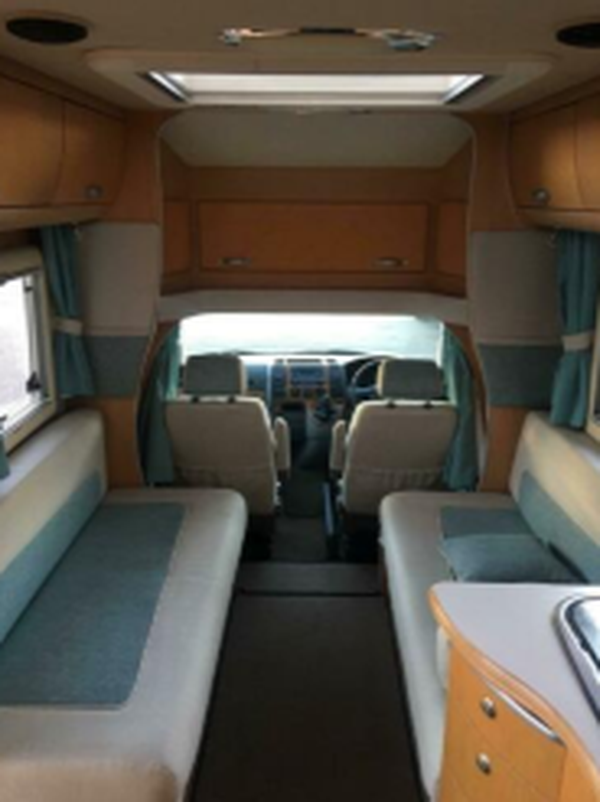 2 Berth VW motorhome