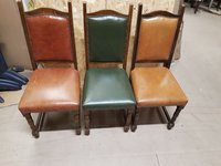 Aniline leather chairs for sale