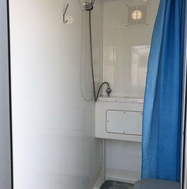 Used 4 bay shower trailer