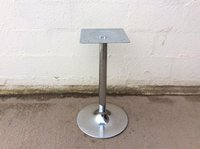 Chrome table base