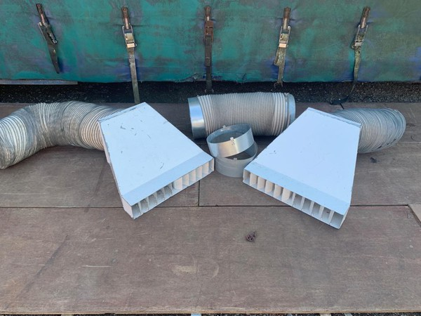 Premier 170 heater ducts and diffusers for sale